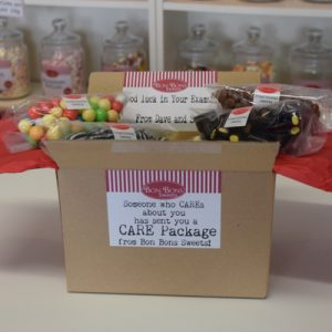 CARE Packages sweets with love by post
