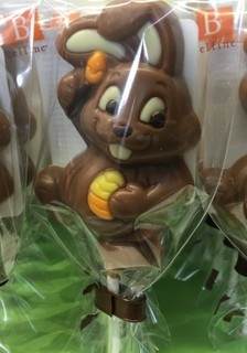 Bunny Chocolate Lolly