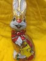 Large Foiled Easter Bunny