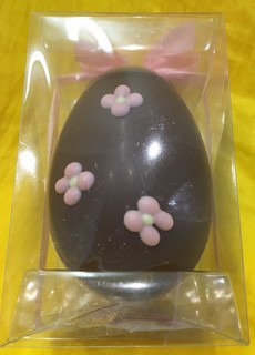 Flower Easter Egg Belgian Chocolate