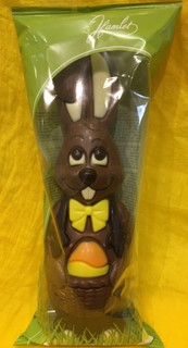Tall Milk Chocolate Bunny (125g)