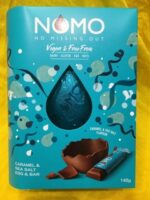 NOMO (No Missing Out) Caramel and Sea Salt Easter Egg and Bar (Vegan)